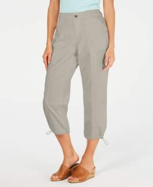 Style&Co. Style & Co Comfort-Waist Curvy-Fit Capri Pants, Created for Macy's