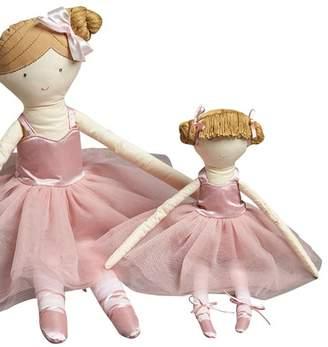 Pink Ballerina Doll Rattle