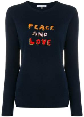 Bella Freud Peace And Love Jumper