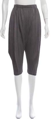 Pleats Please Issey Miyake Plissé High-Rise Pants