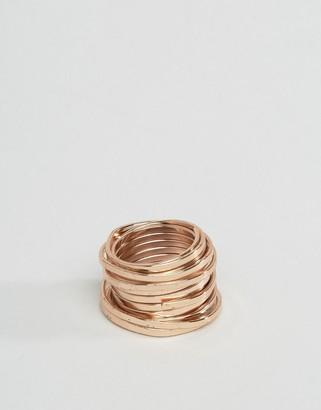 ASOS Coil Ring In Matt Copper $15.50 thestylecure.com