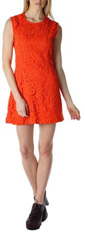 Dolce Vita Jie Dress Bright Orange