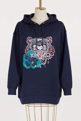 Kenzo Cotton tiger hoodie