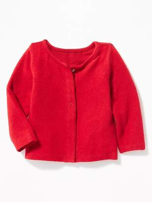 Old Navy Plush-Knit Snap-Front Cardigan for Baby