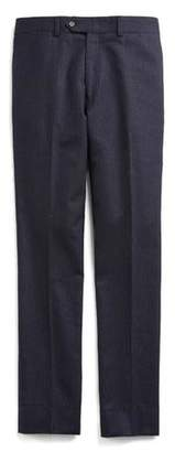 Todd Snyder Pinstripe Wool Trouser in Navy