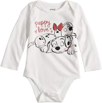 "Osh Kosh Disneyjumping Beans Disney's 101 Dalmatians Baby Girl ""Puppy Love"" Bodysuit by Jumping Beans"
