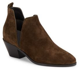 Leather Ankle Boots $350 thestylecure.com