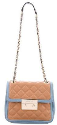Michael Kors Two-Tone Quilted Crossbody