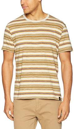 Lucky Brand Men's Stripe Crew Neck TEE Shirt