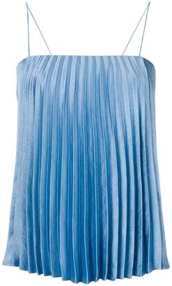 Vince pleated tank top