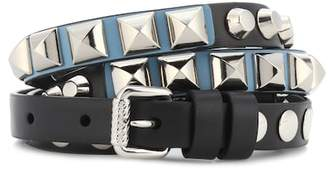 Prada Studded leather belt