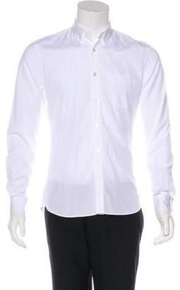 Tomas Maier Woven Button-Up Shirt