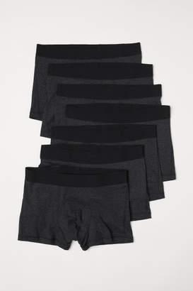 H&M 7-pack Short Boxer Shorts - Gray
