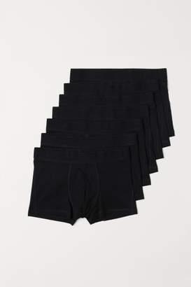 H&M 7-pack Short Boxer Shorts - Black