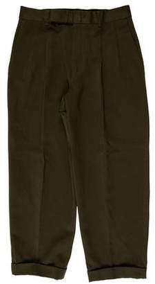 Paul Smith Pleated Cropped Pants