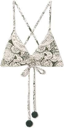 Vince Camuto Paisley-print Bikini Top
