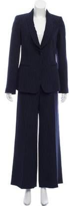 Giorgio Armani Pinstripe Pantsuit Set