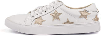 Walnut Melbourne Scout-wa White-gold Sneakers Womens Shoes Casual Casual Sneakers