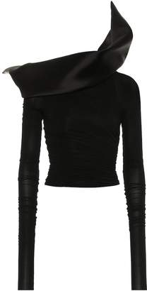 Rick Owens Stretch satin top