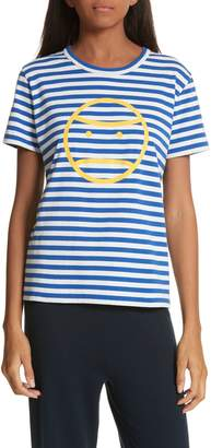 Tory Sport Little Grumps Stripe Tee