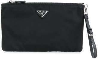 Prada logo make-up bag