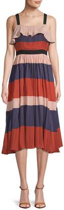 Endless Rose Stripe Midi Dress