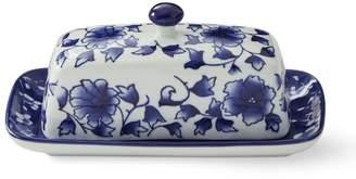 Williams-Sonoma Blue & White Butter Dish