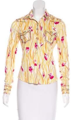 Christian Dior Embellished Top