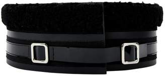 Carven Patent leather belt