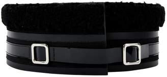 Carven Black Patent leather Belts
