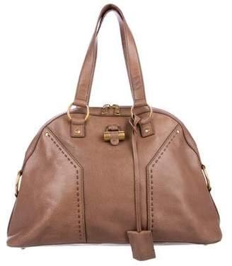 Saint Laurent Grained Leather Muse Bag