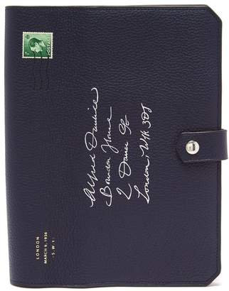Dunhill Boston Envelope leather notebook