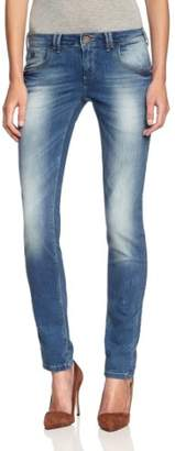 Tigerhill Women's Straight Fit Jeans - - (Brand size: 30/32)