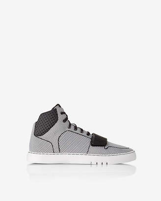 Express Creative Recreation Woven Cesario High Top Sneakers