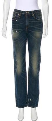 R 13 The Classic High-Rise Jeans
