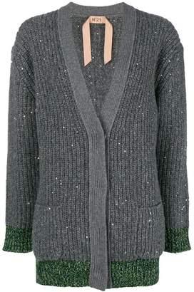 No.21 chunky knit cardigan