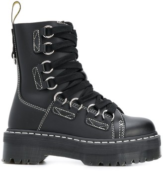 Dr. Martens lace-up ankle boots