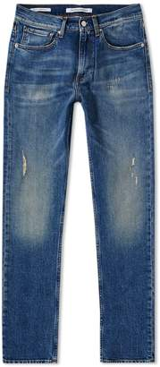 Calvin Klein CKJ 016 Skinny West Mid Wash Jean