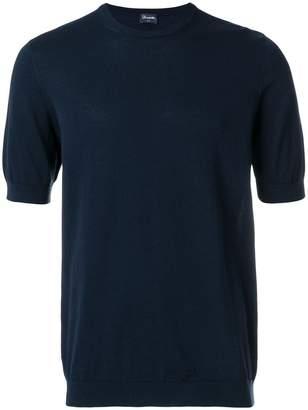 Drumohr fine knit crew neck T-shirt