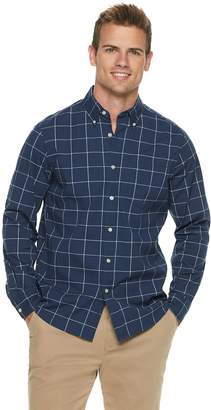 Sonoma Goods For Life Men's SONOMA Goods for Life Flexwear Poplin Button-Down Shirt