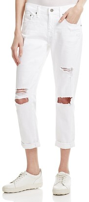 AG The Ex-Boyfriend Slim Jeans in 1 Year White $235 thestylecure.com