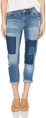 UNIONBAY Women's Baylee Destructed VTG Peg Jean