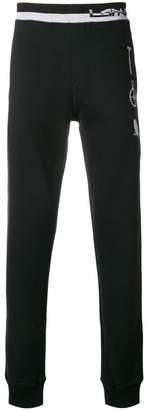 Lanvin striped waistband joggers