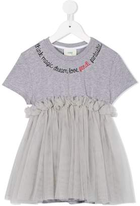 Fendi tulle T-shirt tunic