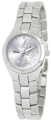 Disney Princess Women's Stainless Steel Fortaleza Watch, Stainless Steel Bracelet