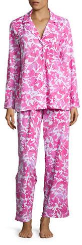 Lauren Ralph LaurenLauren Ralph Lauren Printed Cotton Jersey Pajama Set