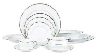 Haviland 45-Piece Barbara Barry Illusion Dinner Service