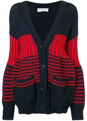 Sonia Rykiel striped V-neck cardigan