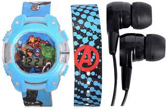 Marvel Unisex Adult Blue Watch Boxed Set-Avg40006jc