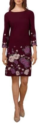 ECI Floral Sheath Dress